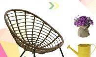 Игра Спечелете люлеещ стол, 10 плата, 4 свещника, 2 колажа за снимки, 2 кашпи, 2 часовника, 10 ваучера за отстъпка
