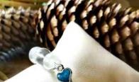 Игра Спечели гривна от планински кристал със сърце от син седеф