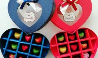 Игра Спечелете шоколадово сърце, пълно с медиани от Chicolatti