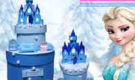 Игра Спечели картонена торта Frozen