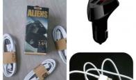 Игра Спечелете микро USB кабел и зарядно за автомобил Remax Alien