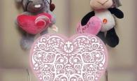 Игра Спечелете плюшена музикална играчка за Св. Валентин