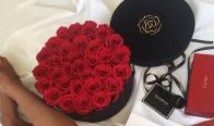 Игра Спечелете луксозна кутия с рози