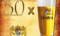 Игра Спечелете 50 аристократични Kaltenberg чаши за бира
