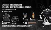 Игра Спечелете Jack Daniel's Барбекюта, Jack Daniel's Tennessee Honey 0.7l и още много награди