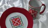 Игра Спечели тази прекрасна чаша ,чиния и гривна с народни мотиви