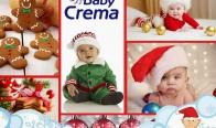 Игра Спечелете детско колело, столче за хранене, термочувалче, 5 комплекта продукти Baby Crema