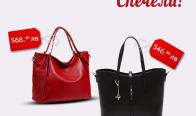 Игра Спечелете Червена кожена чанта - Lorenzo Paris или Кожена черна чанта - Luisa Vannini
