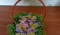 Игра Спечели тази кошничка от Цветя и дръвчета от мъниста ТЕДИ