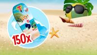 Игра Спечелете 150 детски сърф дъски от Tedy Play