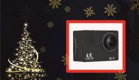 Игра Спечелете Спортна камера GHY V3 4K, Смарт часовник U8 или ваучер за 20 лв.