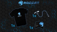 Игра Спечели тениска, шапка или USB LED вентилаторче с логото на ROCCAT
