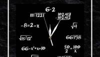 Игра Спечели този черен стенен часовник Математика