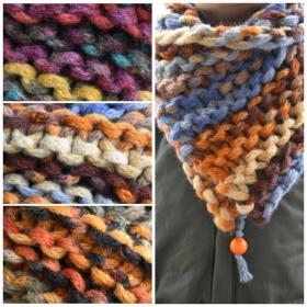 Спечели един от нашите топли, зимни, плетени шалове