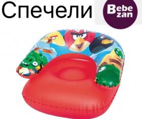 Спечелете надуваемо кресло с любимите Angry Birds