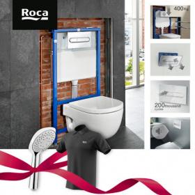 Спечелете душ слушалки Sensum Square и тениски Roca
