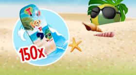 Спечелете 150 детски сърф дъски от Tedy Play