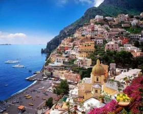 Спечели самолетни билети до Неапол и трансфер до най-красивите плажове на Амалфи Италия