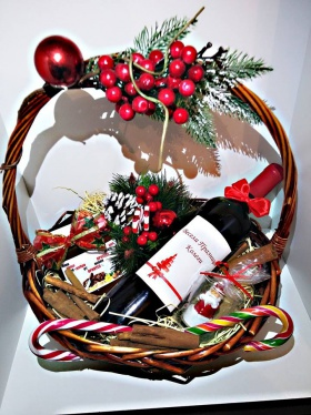 Спечелете Коледна кошница