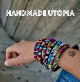 Спечели една от последните гривни с шевички на Handmade Utopia