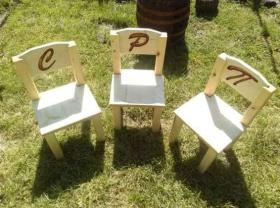 Спечели дървено детско столче с гравирана буквичка по избор