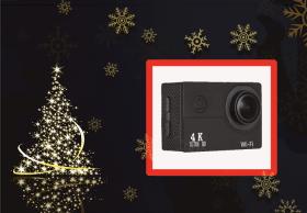Спечелете Спортна камера GHY V3 4K, Смарт часовник U8 или ваучер за 20 лв.