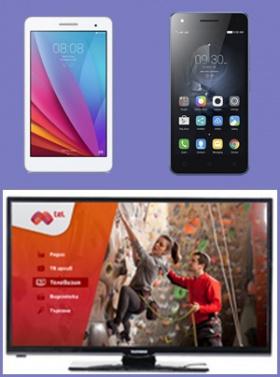 """Спечелете 14бр.Telefunken TV 32"""", 14бр. Huawei Mediapad T2, 14бр. Lenovo K6"""