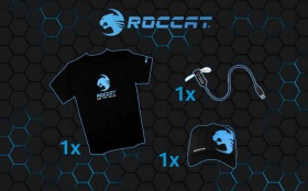 Спечели тениска, шапка или USB LED вентилаторче с логото на ROCCAT